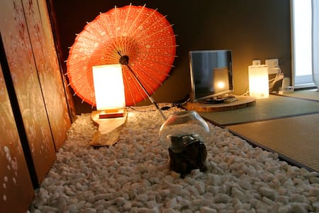 *20%OFF*3-floor+RoofTop+CHERRYBLOSSOMS TREE+Tatami - Apartment