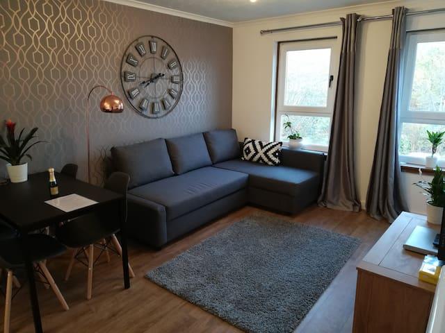 Stylish Renovated 1 bed flat FREE parking/Wifi