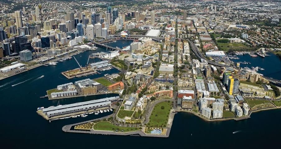 Darling Harbour: Entire apartment one bedroom