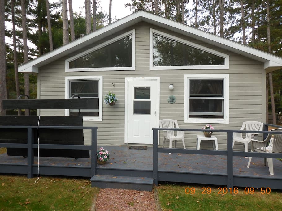 Duxbury cottage cabins for rent in minocqua wisconsin for Cabin rentals wi