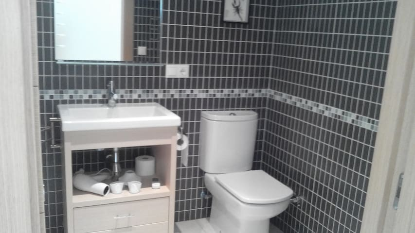 strakke moderne badkamer