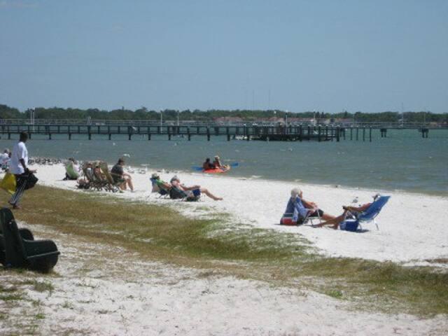 Beachfront Condo Gulfport Florida - Gulfport - Apartment