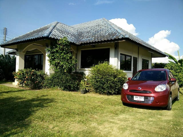 House with car - 170 Moo. 3   T. Mae Faek  A. San Sai - บ้าน