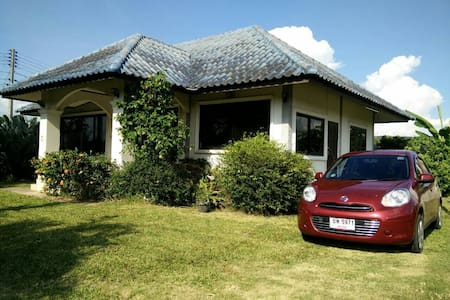 Modern house with car - 170 Moo. 3   T. Mae Faek  A. San Sai - Hus