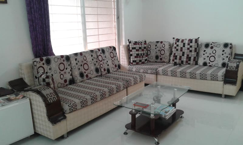 3BHK fully furnished airy apartment in Punawale
