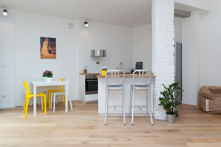 GREAT NEW LOFT TO LOVE TURIN - Torino - Loft