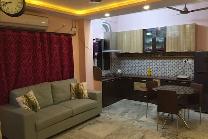 Briti's The Pad!! A Luxurious 1bhk Apartment!! - Kolkata - Appartement