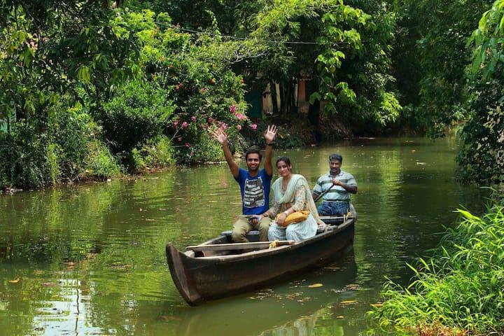 VillageLifeExperience&Lakeview homestay@ Kumarakom