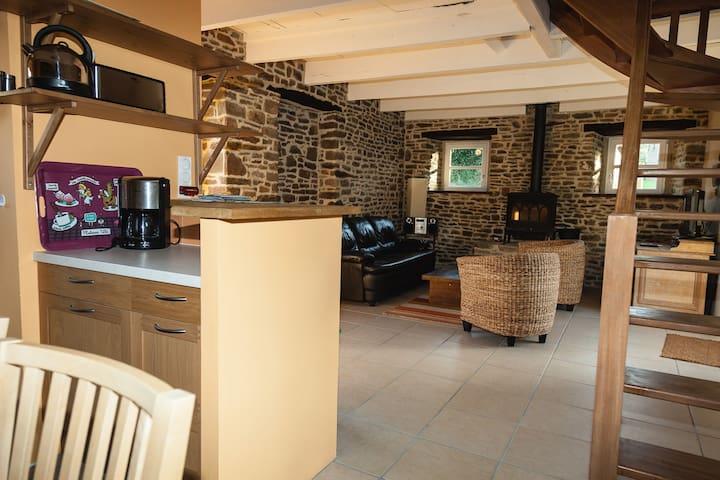 LA FERME DE LA BLONDELLIERE LE GITE D'ANNE - Saint-Jean-des-Champs