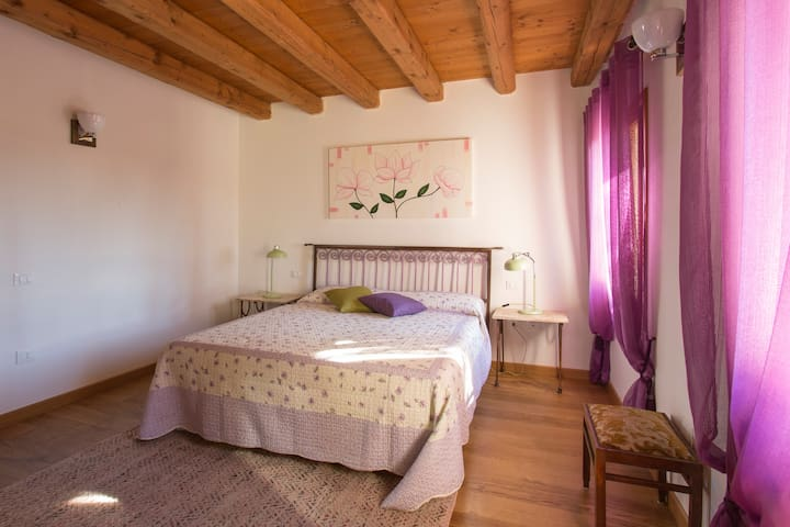 Double bedroom in the country - Spresiano - Bed & Breakfast