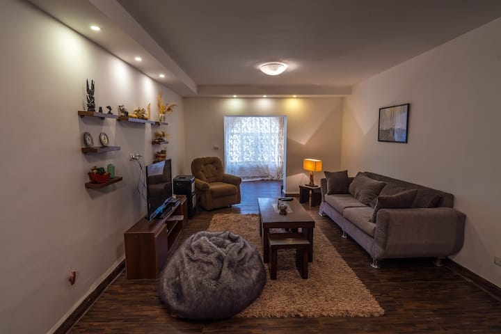 Villa Karrain Madaba-The apartment