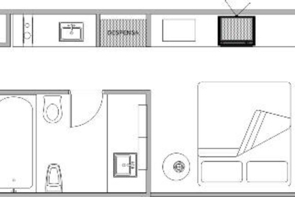 Plano de planta / floorplan