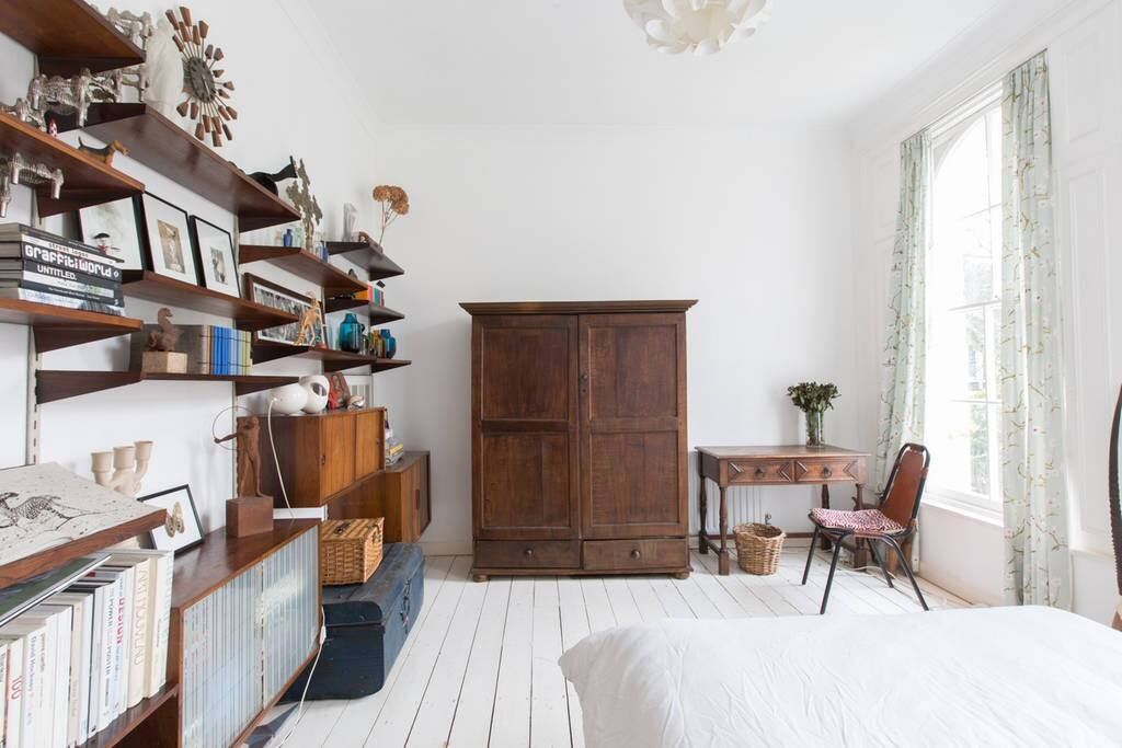 Antique double wardrobe