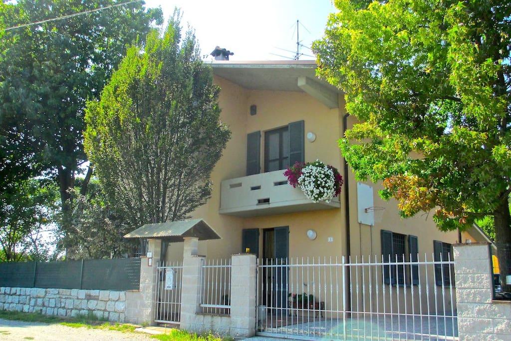 B b la casa del picchio case in affitto a castelvetro for Affitto arredato cremona privato