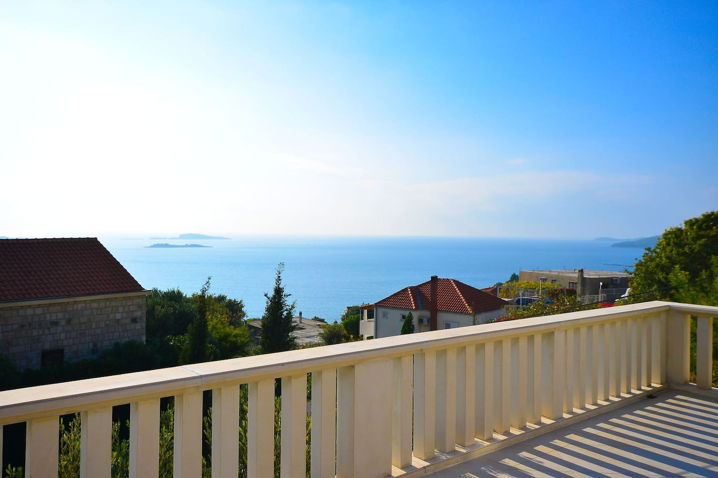 Sea from the apartments terace