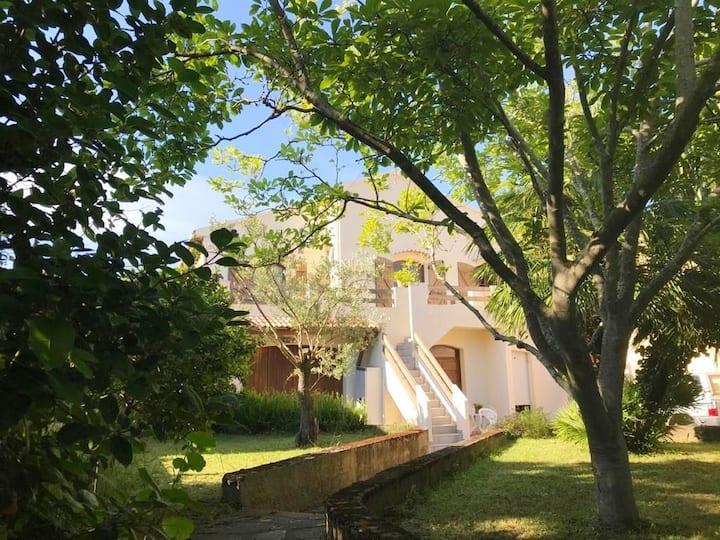 Rez de villa T3 cosy avec jardin