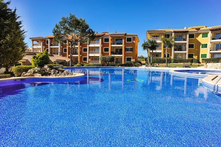 Ferienwohnung 2689 mit Poolzugang in Porto Cristo - Cala Magrana - Huoneisto