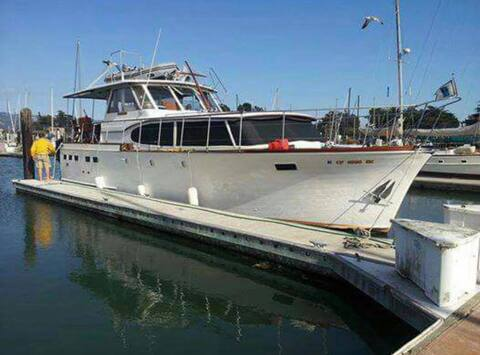 46´Motor Yacht Semper Fi, classic and comfortable