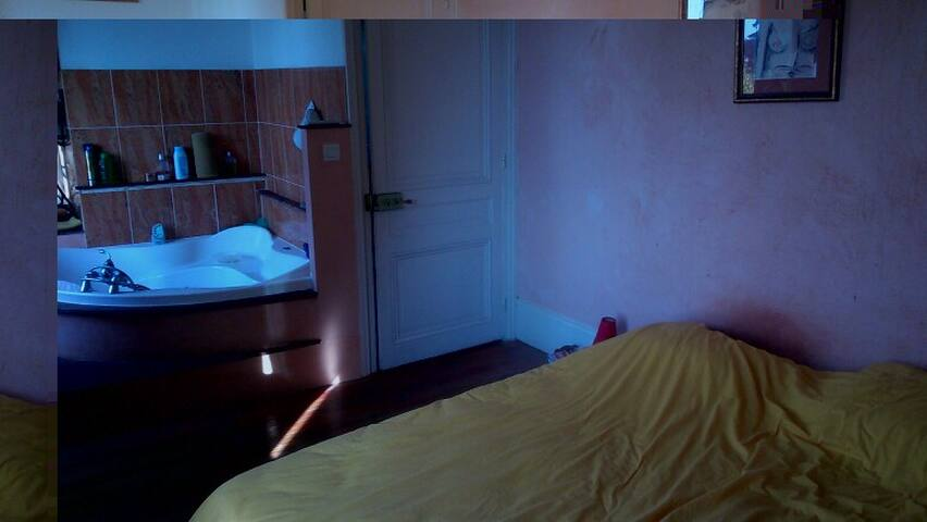 Lovely room en campagne Lyonnaise - Neuville-sur-Saône - Casa