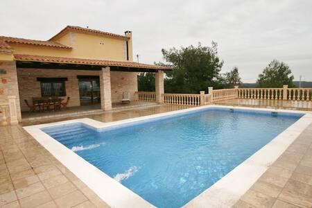 Villa rural en plena naturaleza - Chella - Huvila