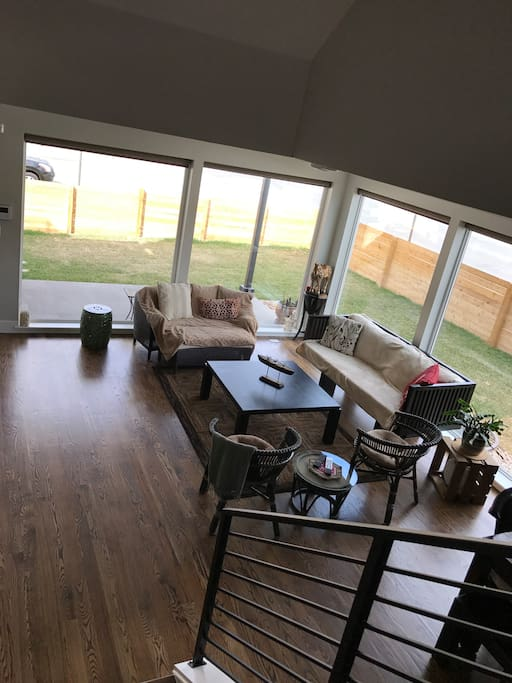 Living Room and Yard view