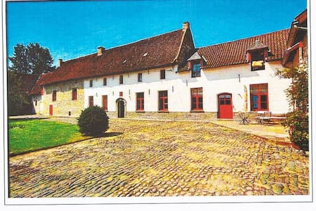 Brussels'airport/charming old farm - Vilvoorde - Casa