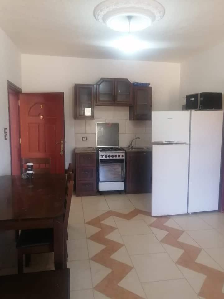 furnished apartment German Jordan University