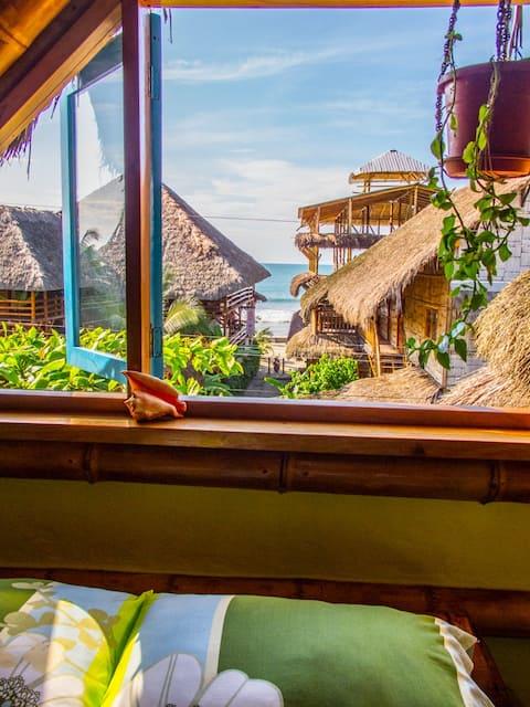 Tropical Bamboo Paradise Beach Home