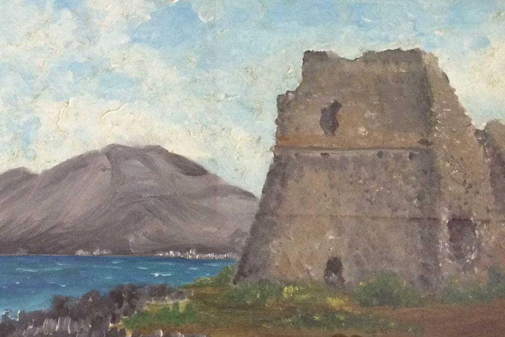 quadro con la torre saracena