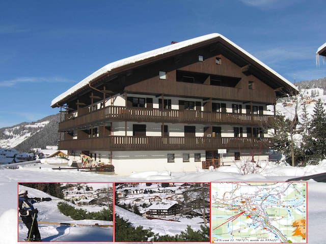 Apartment in Selva Val Gardena - Wolkenstein in Gröden - Huoneisto