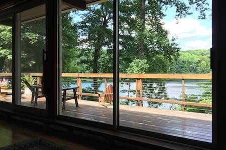 Lakefront Getaway - Spacious/Private, 90min to NYC - Sherman - 独立屋