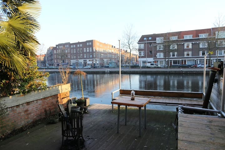 Waterfront apartment at Historisch Delfshaven - Rotterdam - Apartment