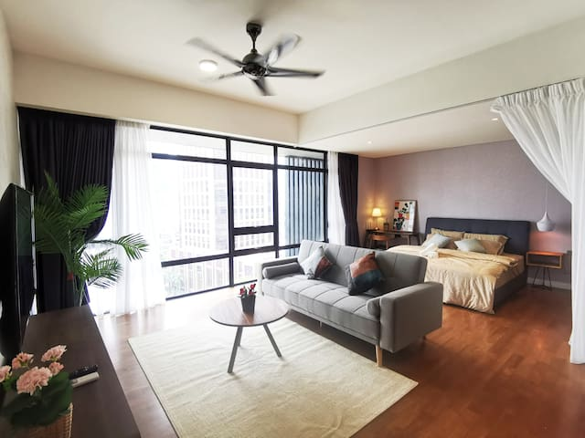 Nice Interior Design living / bed area