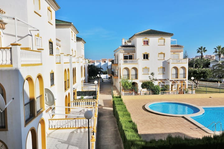 Apartment 200m from the beach in La Mata