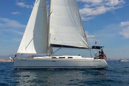 Nice 12 m sailing boat with 3 double cabins - Alicante - Barco