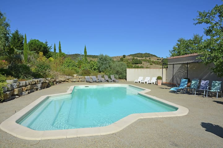 Luxuriöse Villa bei Carcassonne mit privatem Pool
