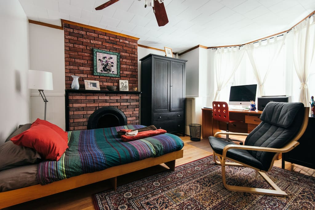 Private room in brooklyn with private bathroom for Rooms for rent in nyc with private bathroom