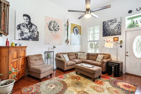 Art Filled Sanctuary in the Heart Of Mid City