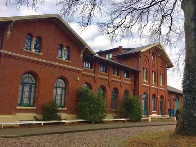 Wohnung in Hittfeld Bahnhof, 15Min. Zug zur HH Hbf - Seevetal