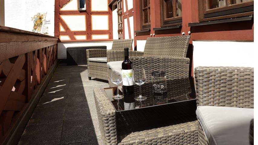 Moderne zentral gelegene Ferienwohnung in Cochem