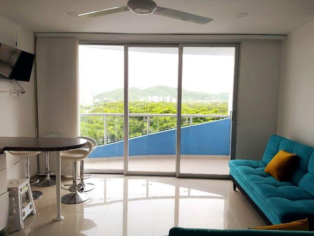 Sala y Balcón 1