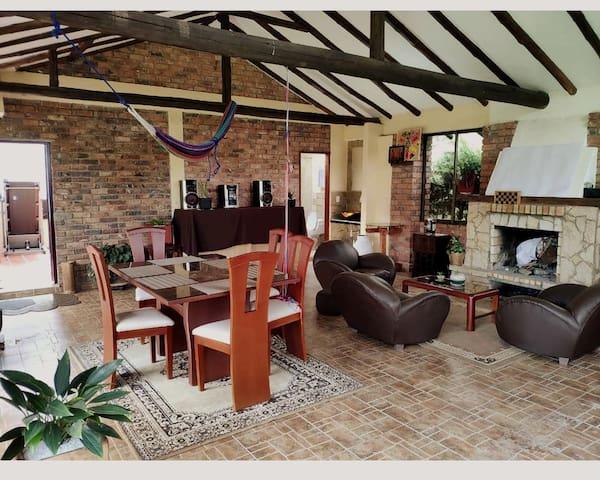 Linda casa campestre en Ubate