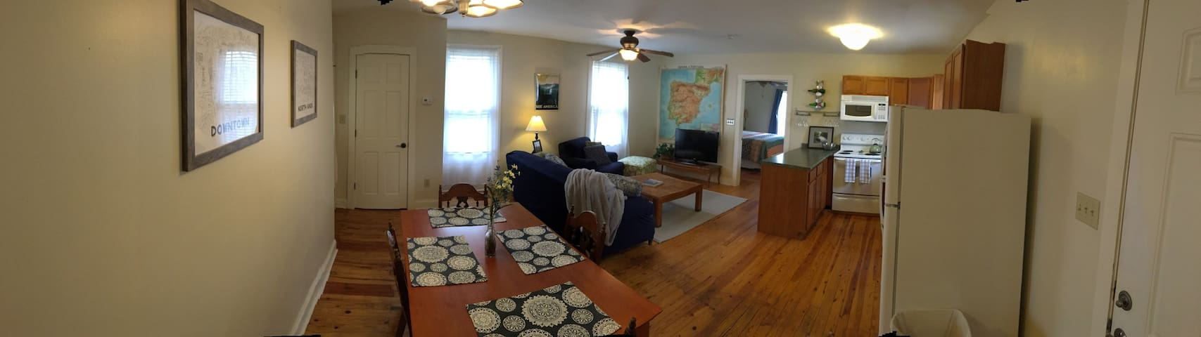 Cozy and Convenient Apartment in Old North Knox - Knoxville - Lägenhet