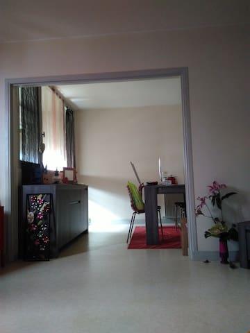 Chambre proche du centre - Tarbes - Apartament