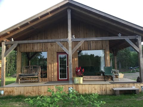 Bev's Place on the Bulkley River