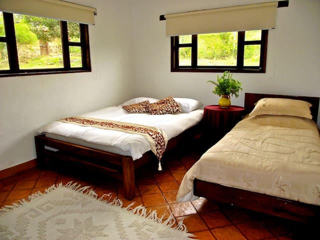 Both bedrooms have an en-suite bathroom.