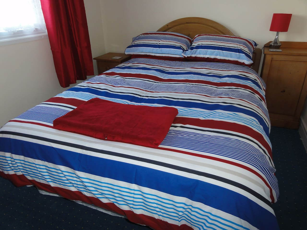 Double bedroom - all bedding provided, including extra duvets & blankets (& hot water bottles)