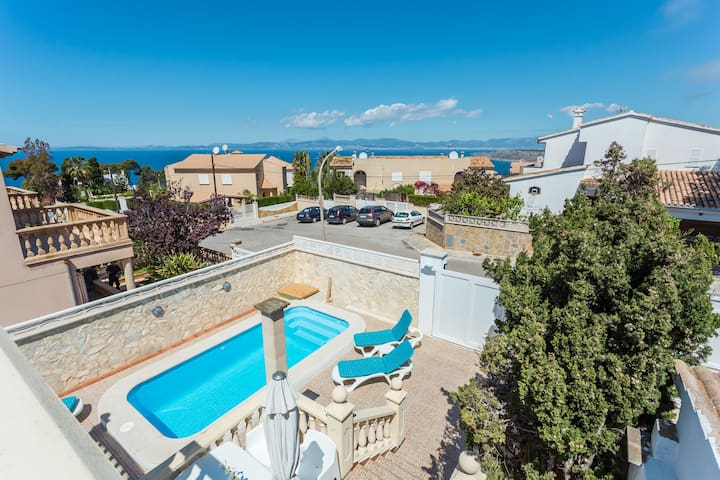 Charming house with sea views - Llucmajor - House