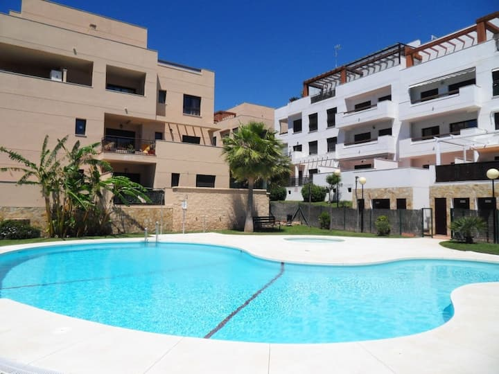 Modern 1 bed apartment, in La Cala De Mijas