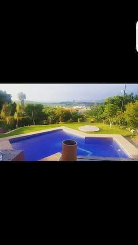 Casa con alberca caliente vistaoro - Chapala, Jalisco, MX - House